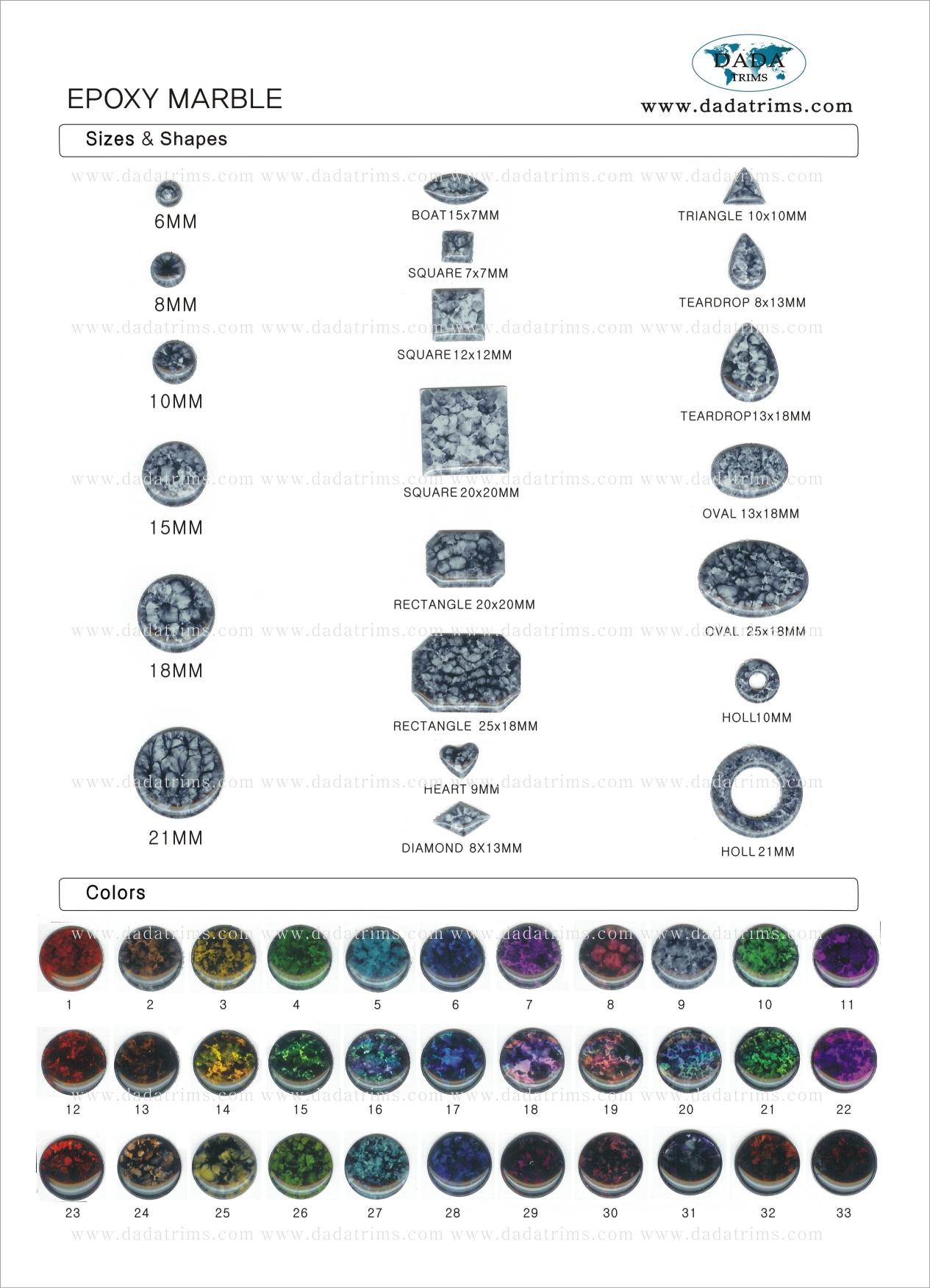 Epoxy Marble
